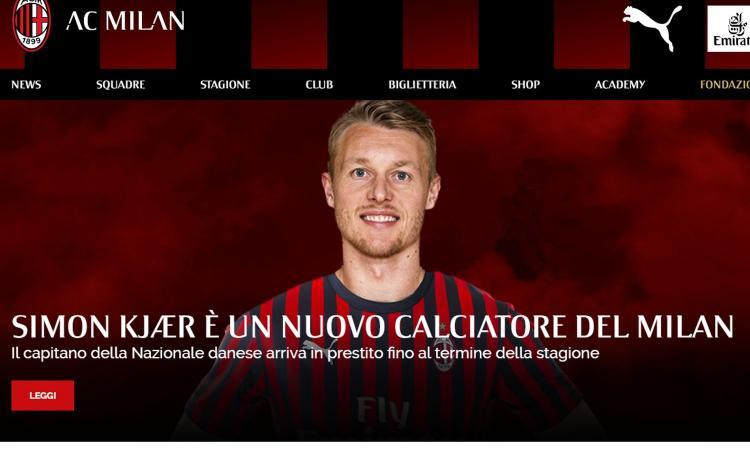 Kjaer: 'Milan sogno che si avvera, l'obiettivo è restare. Ibrahimovic? Abbiamo avuto le nostre guerre ma...'