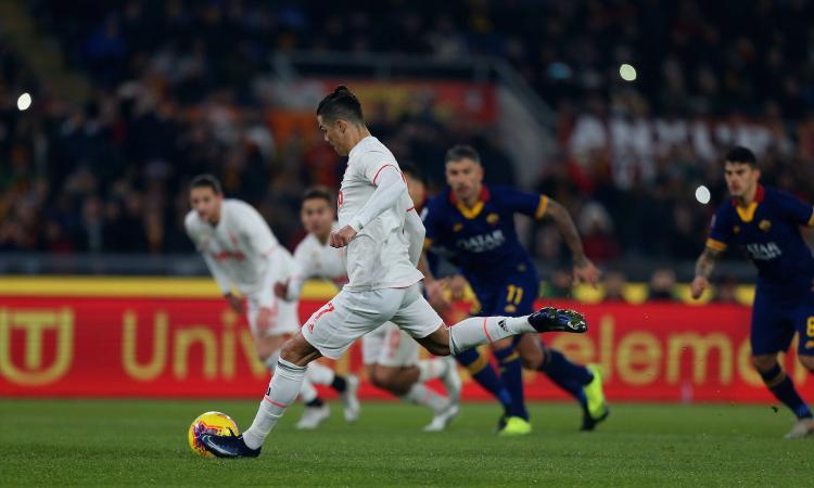 Roma-Juve, record di ascolti su Sky: più di 2 milioni incollati alla Tv