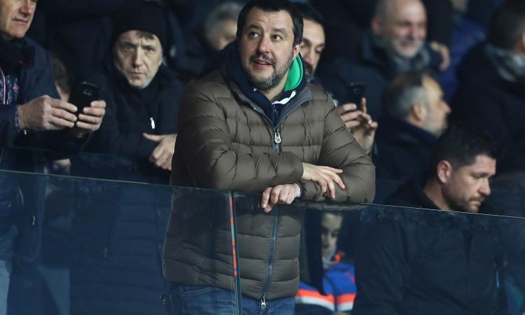 Mihajlovic: 'Tifo per Salvini, mi piace la sua grinta. Se promette, mantiene'