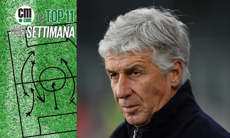 Gasperini guida la TOP 11 di CM.COM della 20a giornata di Serie A. Scopri la formazione!