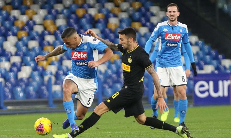 Napoli, Allan intriga l'Inter: la verità sullo scambio con Vecino
