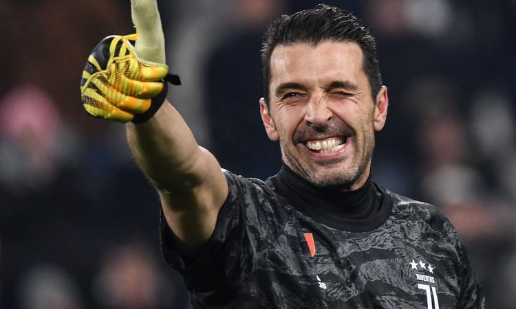 Juve, Buffon: 'Allegri, era giusto cambiare. Guardiola? Spero resti Sarri, vorrà dire che avremo vinto qualcosa'