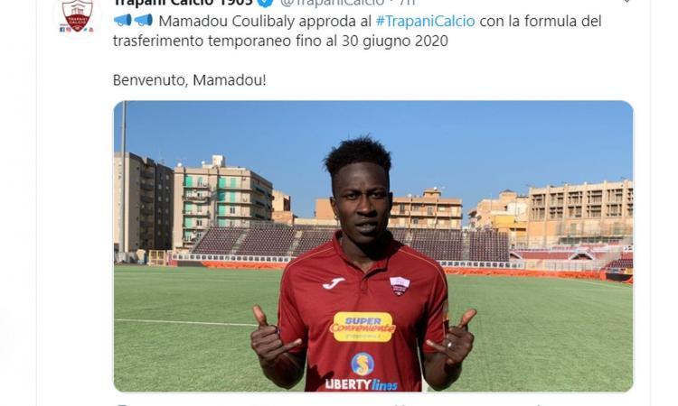 Trapani, UFFICIALE: un attaccante dall'Udinese