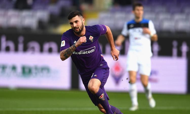 Coppa Italia: la Fiorentina in 10 fa fuori l'Atalanta: 2-1, segna anche Cutrone