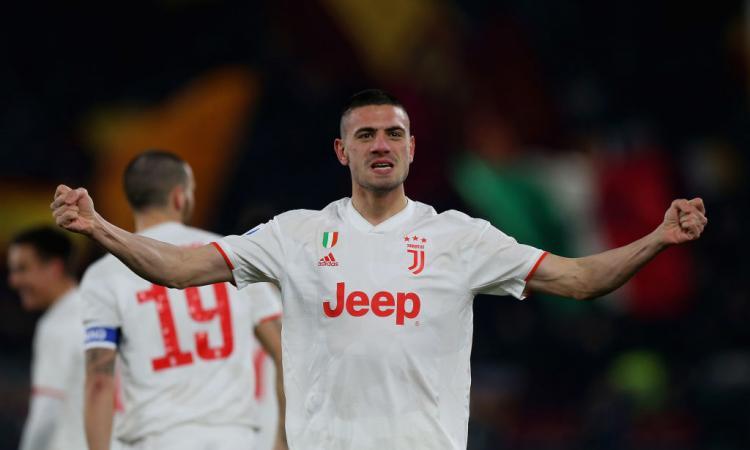 Juve, dalla Roma... alla Roma: si rivede Demiral all'Allianz Stadium VIDEO