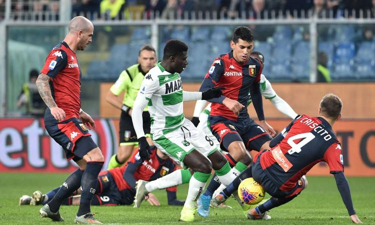 Milan, la richiesta del Sassuolo per Duncan