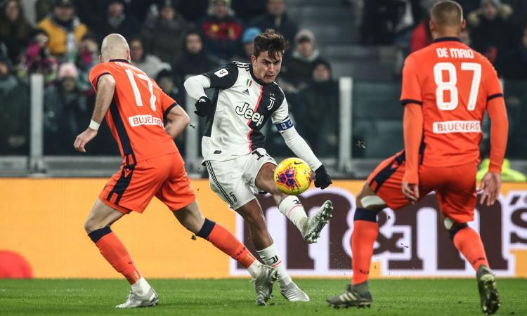 Juve, Del Piero a Dybala: 'Bello fare gol così, eh?'. La risposta: 'Potere del 10'