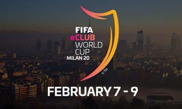 Mondiale Fifa eClub a Milano dal 7 al 9 febbraio: tre squadre italiane in corsa!