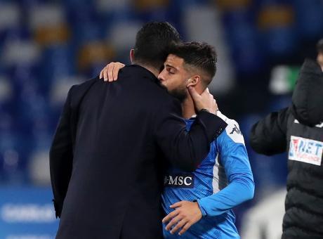 Napoli-Lazio da manicomio. Gattuso ritrova il San Paolo, un Insigne capitano vero ed elimina Inzaghi