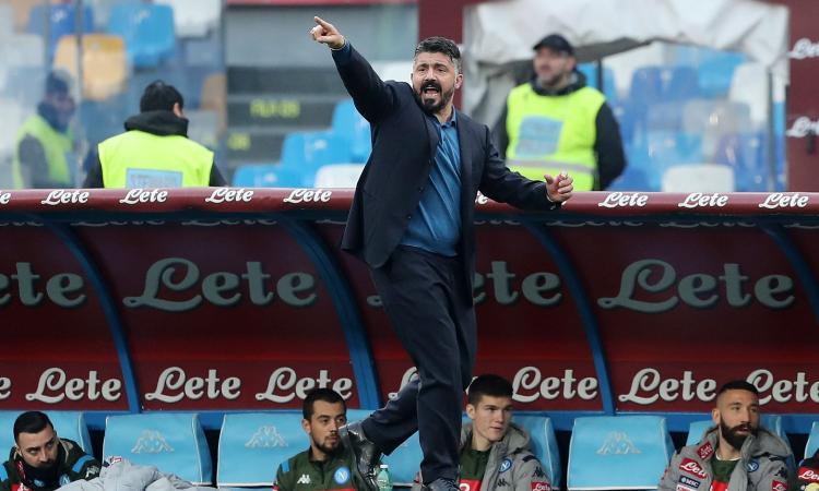 Napolimania: Rino accarezza Carlo, ma Gattuso deancelottizza il Napoli. E Lozano ora è un caso