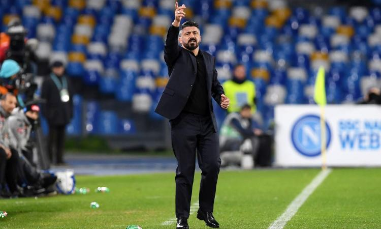 Convocati Napoli: solo quattro centrocampisti per Gattuso, novità in attacco