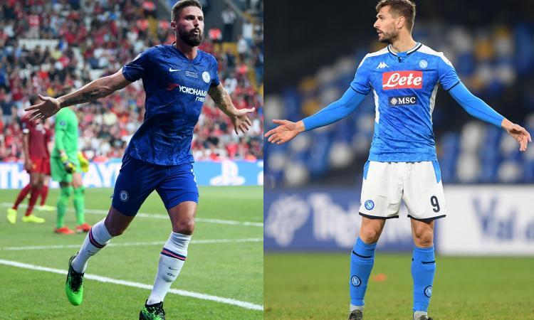 Llorente è meglio di Giroud per l'Inter