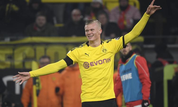 Haaland: la verità sulla clausola presente nel contratto col Dortmund