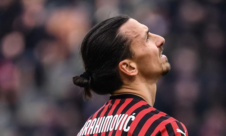 Milan, allenamento personalizzato per Ibrahimovic in vista del derby