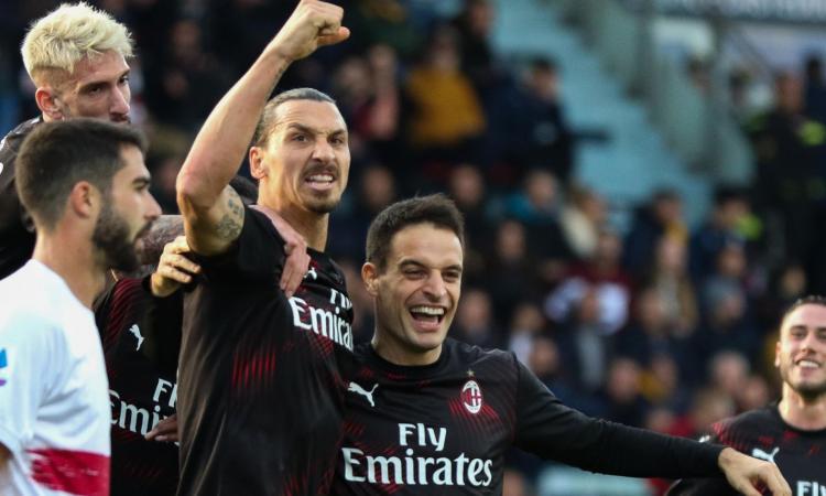 Milan, i tre fattori di Ibrahimovic