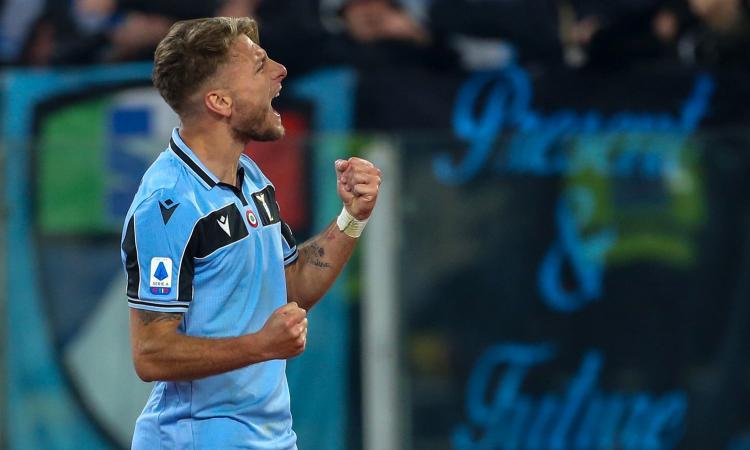 Lazio, Immobile: 'Il gol? E' mio, se no poi al fantacalcio si arrabbiano...'