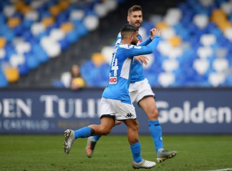 Coppa Italia: Insigne porta il Napoli ai quarti, 2-0 al Perugia con due rigori