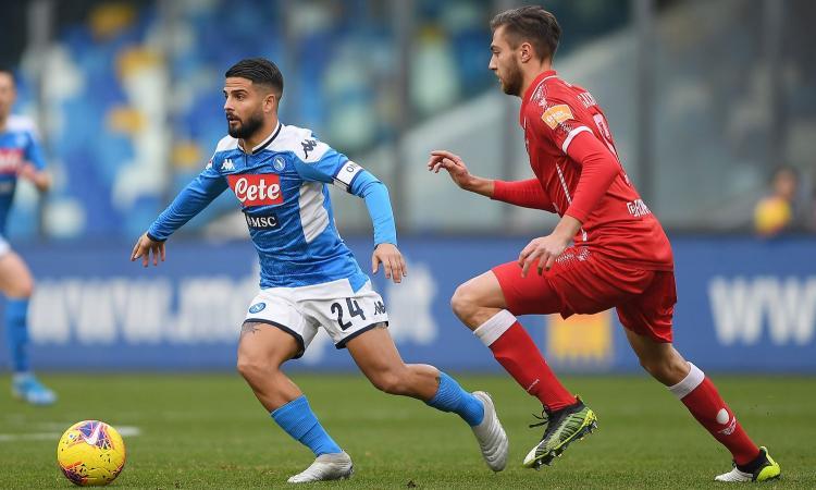 Napoli-Perugia 2-0: il tabellino