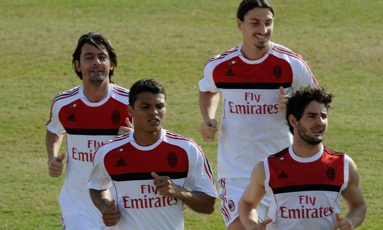 Inzaghi: 'La maledizione del 9 del Milan? Se lo mette Ibra, è già finita'