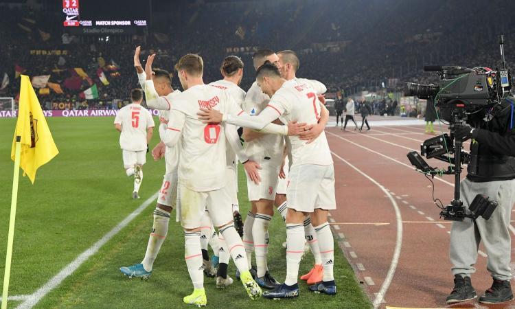 La Juve vince a Roma con Demiral e Ronaldo ed è Campione d'inverno: Sarri a +2 sull'Inter