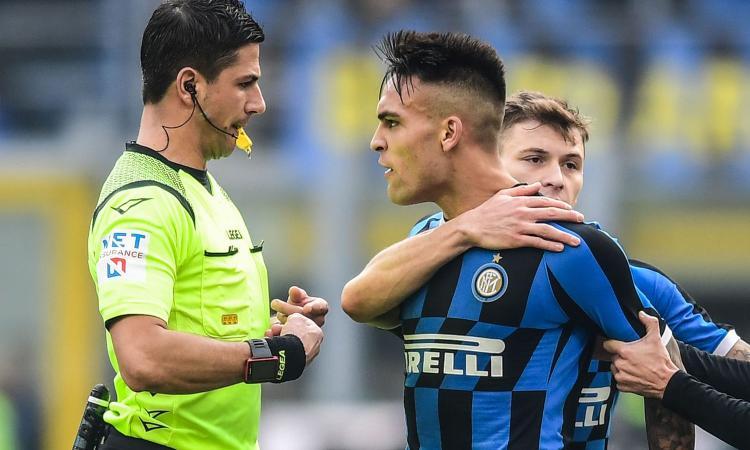 Chiesa a CM: 'Inter-Cagliari, gol ok e Lautaro rischia un lungo stop. Mani di Cuadrado e Kluivert giù in area...'