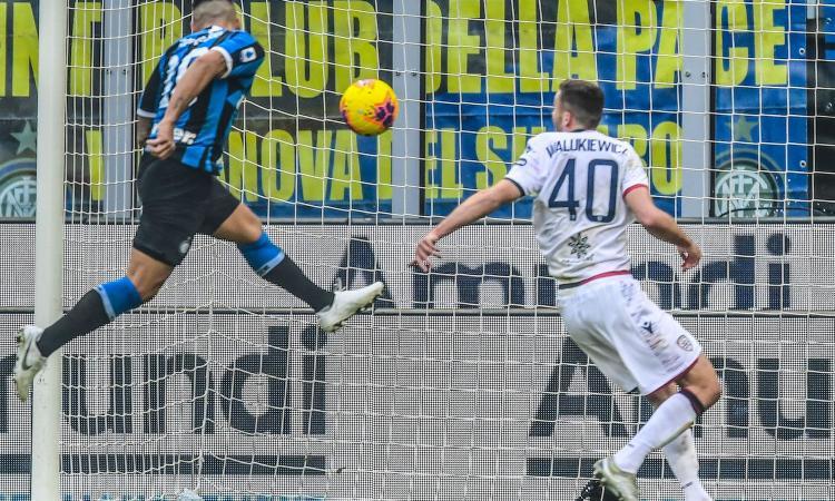 Inter-Cagliari 1-1, il tabellino
