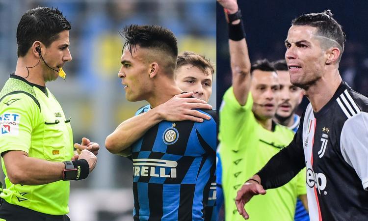 Intermania: Lautaro espulso, Ronaldo no. Se Conte parlasse come Sarri...