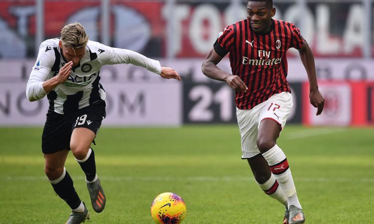 Milan-Udinese, rivivi la MOVIOLA: Leao chiede un rigore, Pairetto e Var non concedono