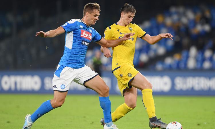 Inter: a rischio il colpo Kumbulla, cosa sta succedendo con il Napoli