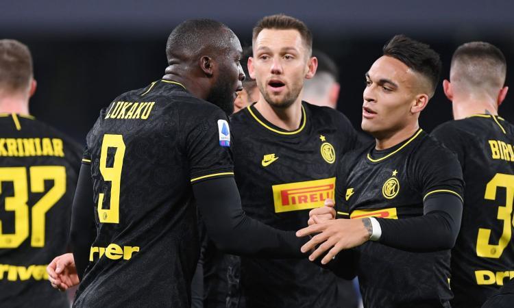 Napoli-Inter 1-3: il tabellino