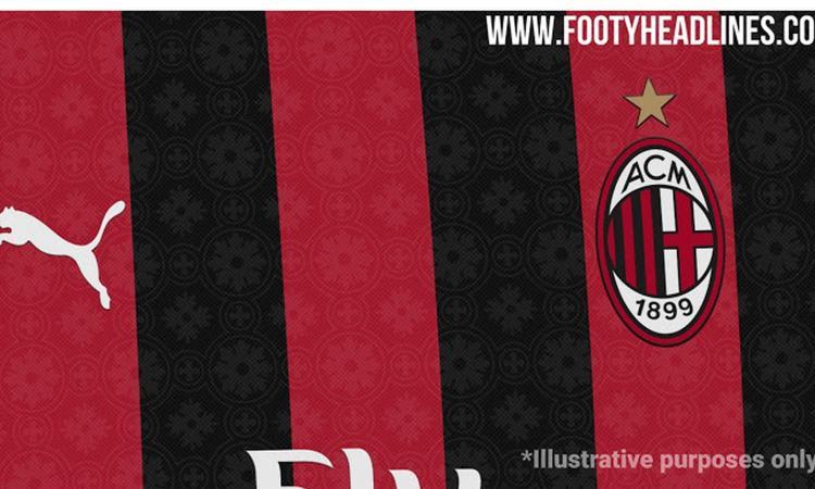 Milan, spunta il design per la nuova maglia: c'è un richiamo al Duomo FOTO