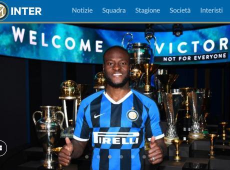 Moses: 'Un onore essere all'Inter, c'è qualità. Ai tifosi dico...'