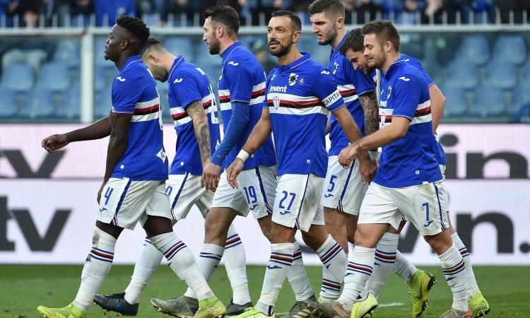 Senza Tonali il Brescia non esiste, la Sampdoria risorge insieme a Quagliarella