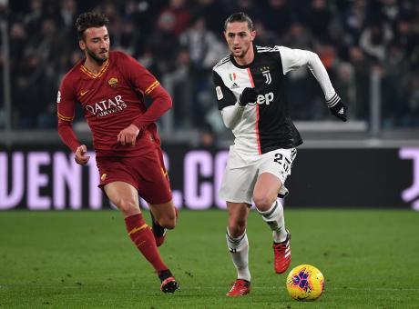Juve-Roma, le pagelle di CM: Ronaldo onnipotente, Rabiot in crescita. Flop Florenzi e Cristante