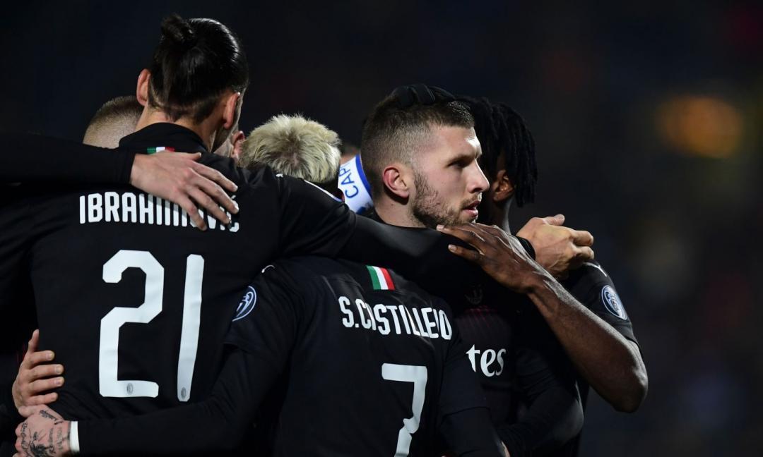 Nel calcio contano i goal e così il Milan stende il Brescia