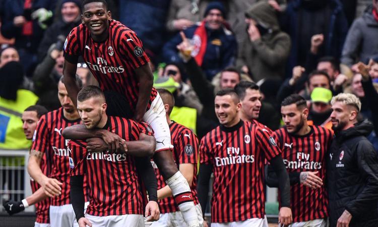 Rebic fa esplodere San Siro all'ultimo respiro: 3-2 Milan all'Udinese