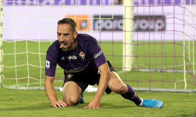 Fiorentina: c'è la data del rientro di Ribery