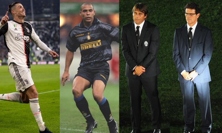 Intermania: dal Fenomeno a Ronaldo gufo, le origini dello scontro Conte-Capello