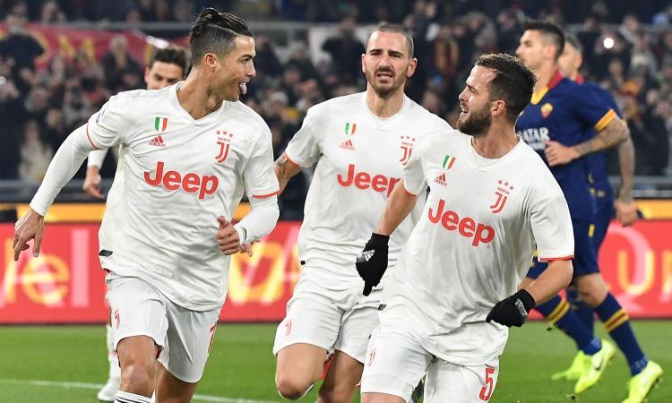 Juve campione d'inverno, ma deve dire grazie alla Roma: i due gol sono regalati