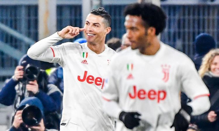 Juve, Ronaldo ha segnato a tutte le squadre di Serie A