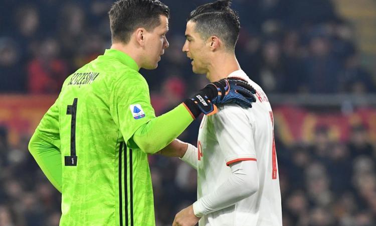 Szczesny su Ronaldo: 'Ci ha regalato un iMac dopo l'espulsione con il Valencia'