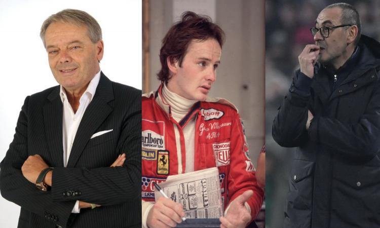 Turrini: 'Sarri non è un traditore, anche Villeneuve avrebbe lasciato la Ferrari. Era un 'pazzo', come quella volta che...'