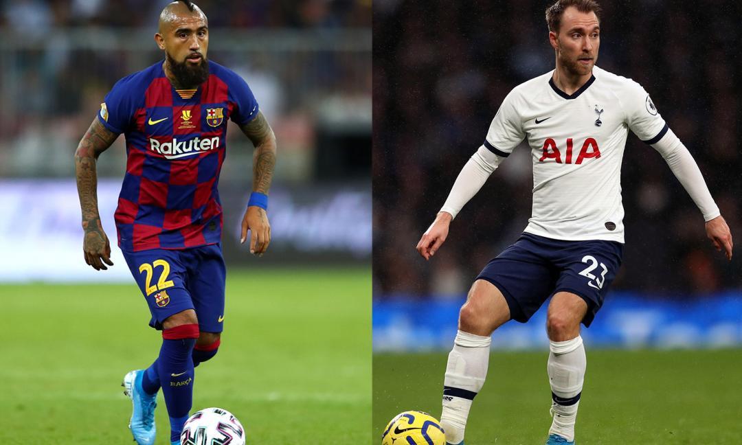 Eriksen o Vidal, chi vorreste per l'Inter a gennaio?