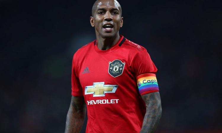 Il Manchester United esclude ancora Young, la posizione dell'Inter