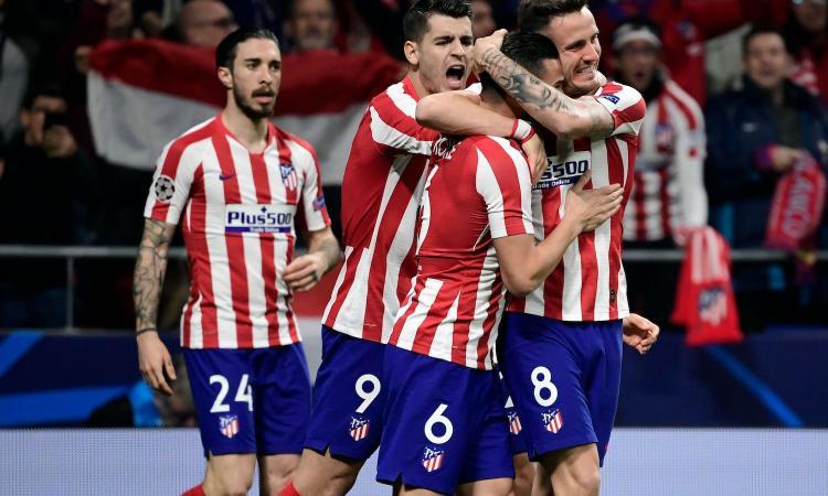 Impresa Atletico, Simeone vince il primo round: 1-0 al Liverpool, decide Saul