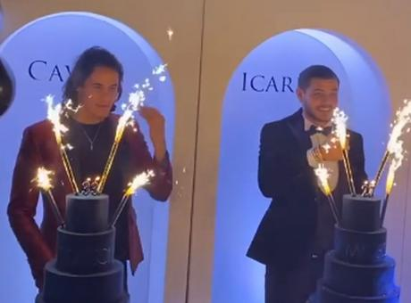 PSG: bufera per la festa di Icardi, Cavani e Di Maria con birra e balli a torso nudo dopo il ko in Champions VIDEO