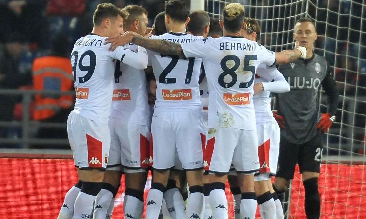 Genoa, ipotesi playout: possibile derby-spareggio con la Sampdoria