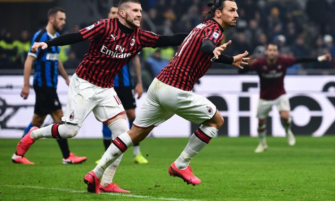 """Bluff del Milan per 45', poi l'Inter """"vede"""" e vince il derby"""