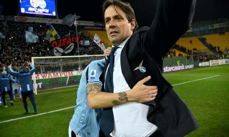 Lazio, per i bookies cade il tabù Inter: Inzaghi non perde dall'andata
