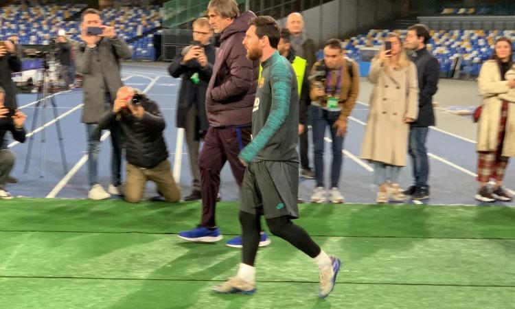 Napoli, un sogno chiamato Messi